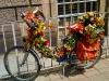 Rad mit Blumen